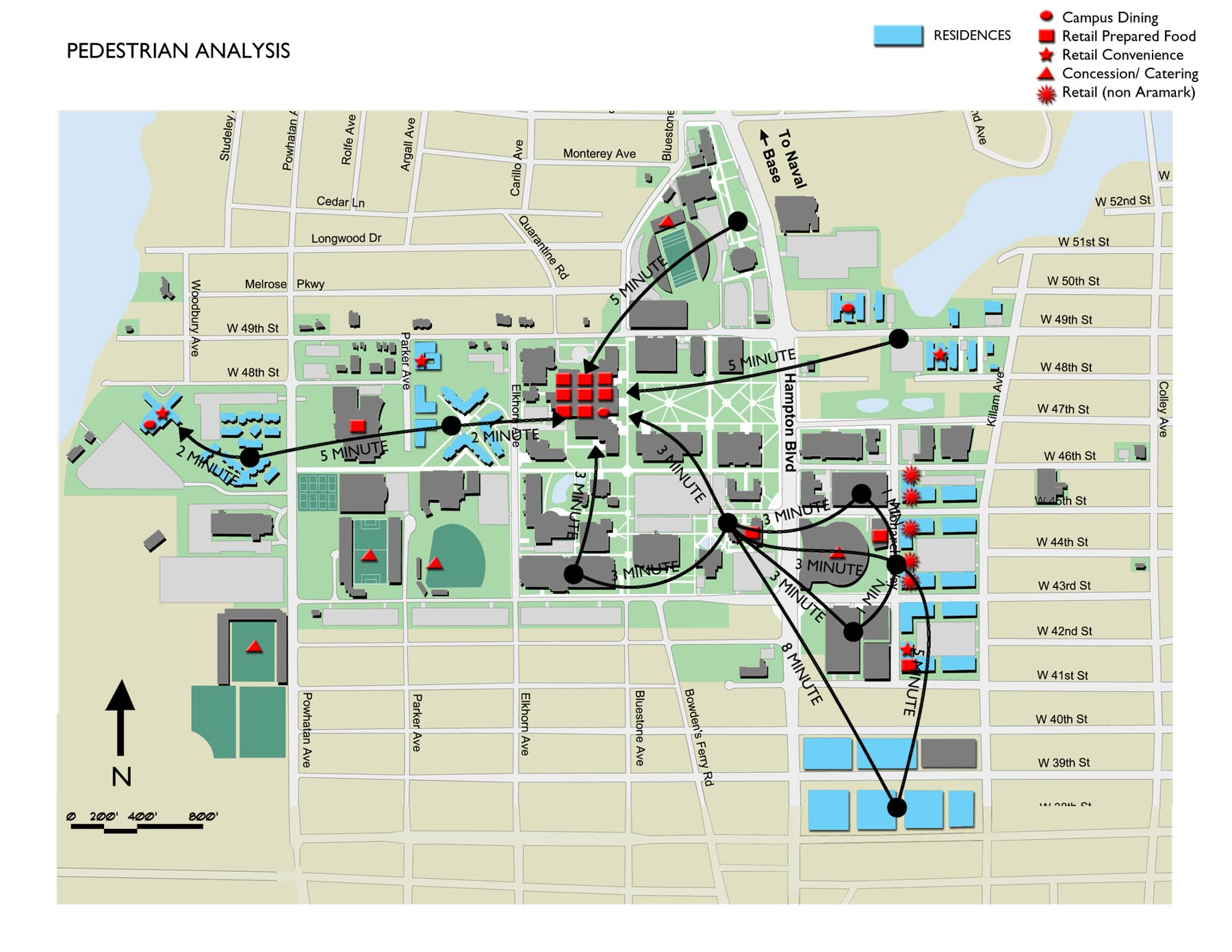 Old Dominion Campus Map.Index Of Images Portfolio Master Planning Old Dominion Campus